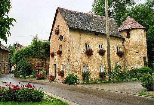 Burg Hofberg Großhauser alt 2