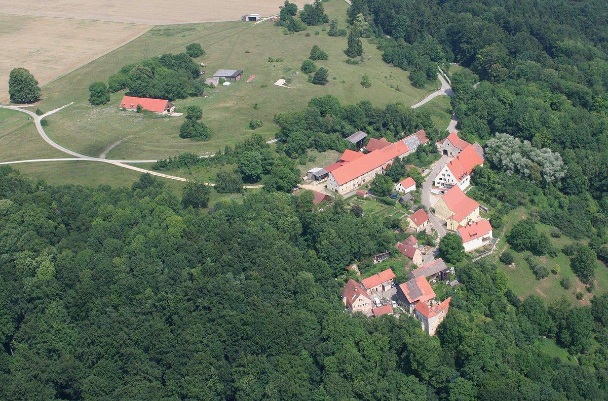Hofberg Luftaufnahme